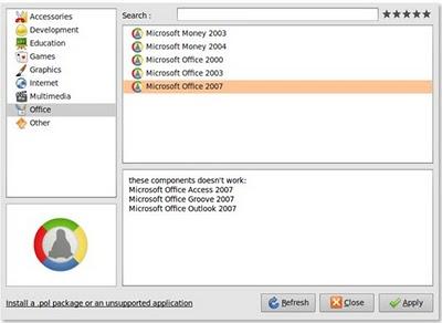 Aplicações e jogos do Windows no Linux